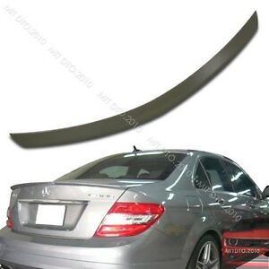 SHIP FROM LA- Mercedes BENZ W204 C300 A Type SEDAN Rear Trunk Spoiler Wing