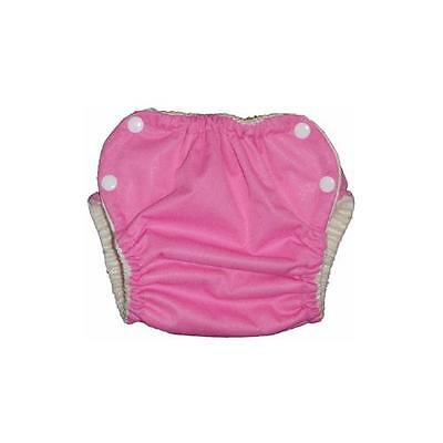Organic Pocket Diapers - Green Acre Designs (GAD) PUL Pocket Diaper W/Organic Bamboo Velour:Princess Pink