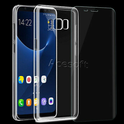 Used, Premium Screen Protector Soft Case for C Spire Samsung Galaxy S8+ SM-G955U Phone for sale  Diamond Bar