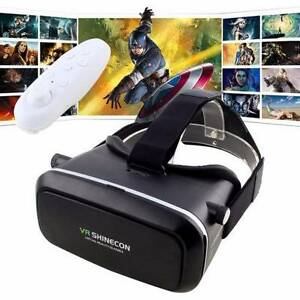 3D VR Shinecon Virtual Reality Google Glasses Bluetooth Remote Westmead Parramatta Area Preview