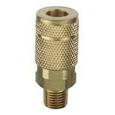 New Plews Tru-flate 13-604 Air Line Compressor 38 Male Coupler Hose Fitting
