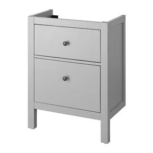 Ikea Hemnes Grey Sink Cabinet with 2 drawers - NEW!