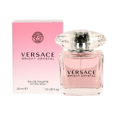 VERSACE BRIGHT CRYSTAL 30ML EAU DE TOILETTE BRAND NEW & SEALED