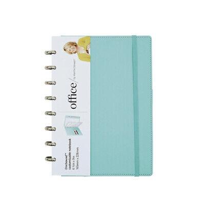 New Office By Martha Stewart Discbound Customizable Notebook Junior Blue