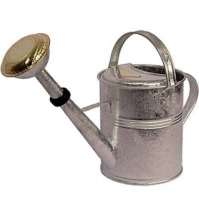 Gießkanne zink 5 l verzinkt Zinkgießkanne Metall feuerverzinkt