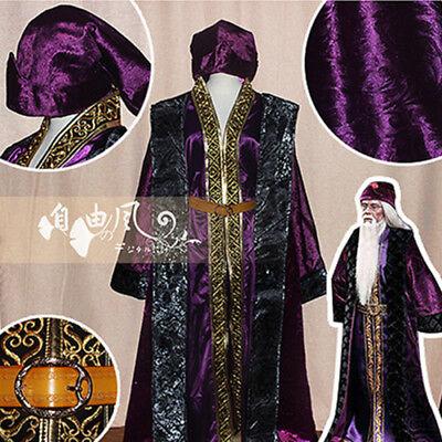 Harry Potter Albus Dumbledore Cosplay Costume Kostüme Robe - Albus Dumbledore Kostüm Robe