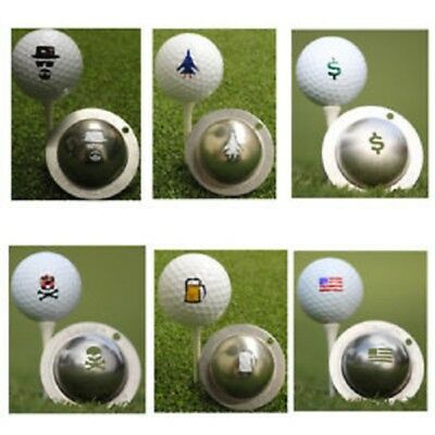 TIN CUP Golf Ball Custom Marking Tool - **CHOOSE STYLE** - Custom Tins