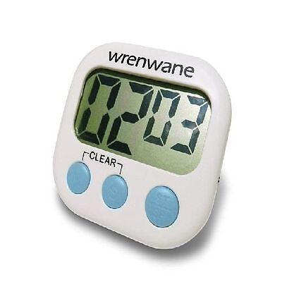 Wrenwane Digital Kitchen Timer, Big Digits, Loud Alarm, Magn