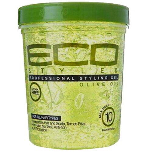 Eco Styler Professional Haar Styling Gel mit Oliven Öl Maximum Halt 473ml