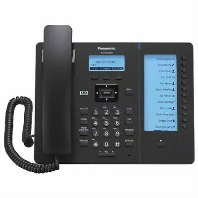 Panasonic Kx-hdv230b Executive Sip Phone W 2.3 Graphical Lcd And Hd Audio
