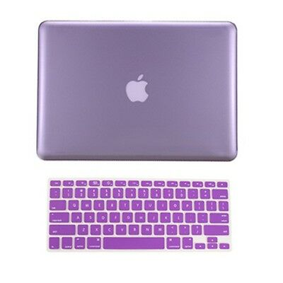"""NEW! Rubberized Hard Case Cover for Macbook PRO 13"""" A1278 +  Keyboard Skin Cover"""