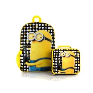 Minion Backpack Lunch Set