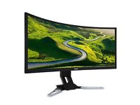 Acer XZ350CU 35 inch VA Curved Ultra-Wide 144Hz Freesync Monitor - 2560x1080