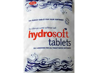 Hydrosoft Water Softener Salt Tablets for heaters, dishwashers, washing machines and showers - 25kg