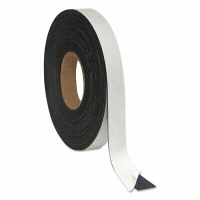 Magnetic Adhesive Tape Roll Black 1 X 50 Ft.