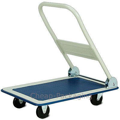 Heavy Duty Folding Platform Trolley Cart Flat Hand Barrow Sack 150Kg