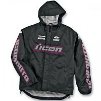 ICON WMN PDX WATERPF JACKET/JAQUETTE MOTO FEMME IMPERMEABLE