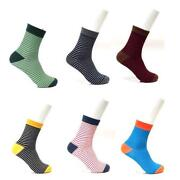 Mens White Dress Socks