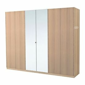 2 x Tall (50 x 229) Vikedal Mirror glass doors to fit the Ikea Pax wardrobe range.