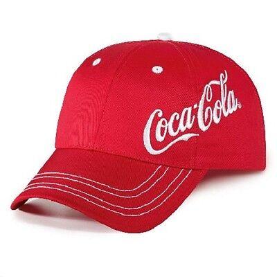 COCA COLA COKE SIDE LOGO RED  HAT  NEW!!!