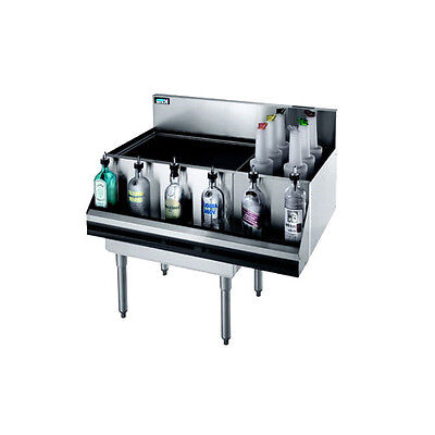 Krowne Metal Kr18-m36l Royal 1800 Series 36w Underbar Ice Bincocktail Station