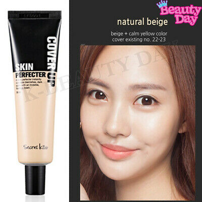 Secret Key Cover Up Skin Perfecter 30ml #23 Natural Beige / Korean Cosmetics NEW