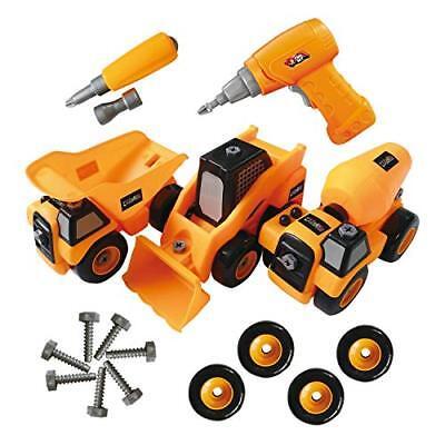 ToyVelt Construction Take Apart Trucks STEM Learn