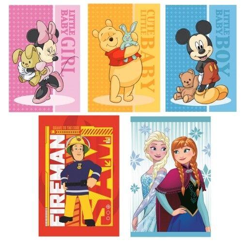 Disney Kinder Handtuch Gästehandtuch Waschlappen 40 x 60 cm Minnie Mickey Sam