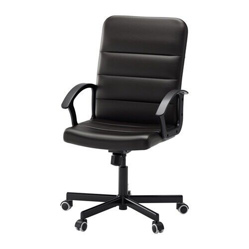 Faux Leather IKEA desk chair in great condition