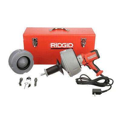 Ridgid K-45-5 36023 Sink Machine W C-1ic C-6 Tools Case 115v
