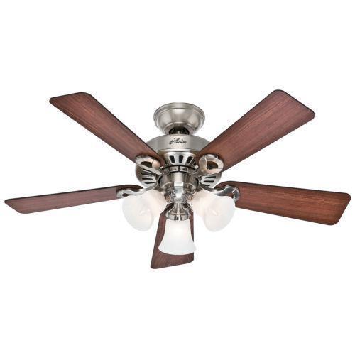 Hunter 52 Contemporary Ceiling Fan 3 Coffee Blades: Hunter Fan Blades