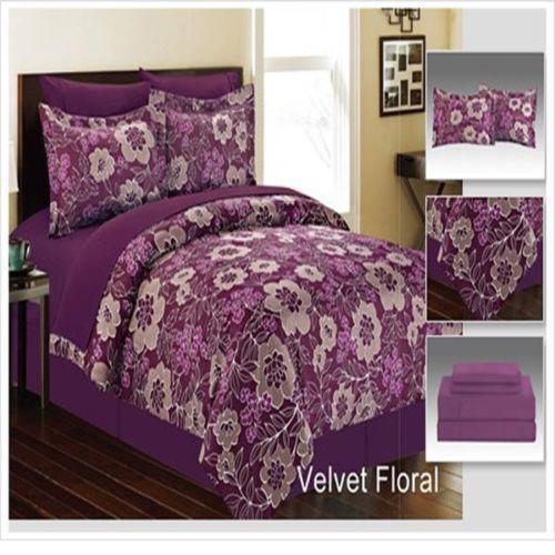 Queen Velvet Comforter Ebay