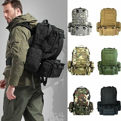Outside Military Tactical Backpack Rucksacks Sports Camping Travel Hiking Bags