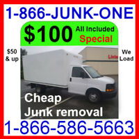 Call 1866 586 5663 for #1 BEST PRICE + Cheap Rate Junk Removal