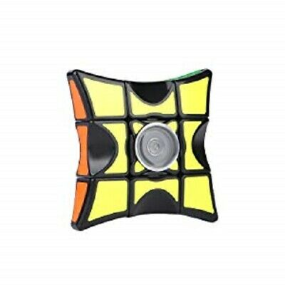 New Rubrik Cube Fidget Spinner Toy | Stress Relief Finger Spinning Toy for Adult