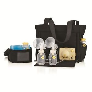 Pump In Style double electric breast pump new price; used once.