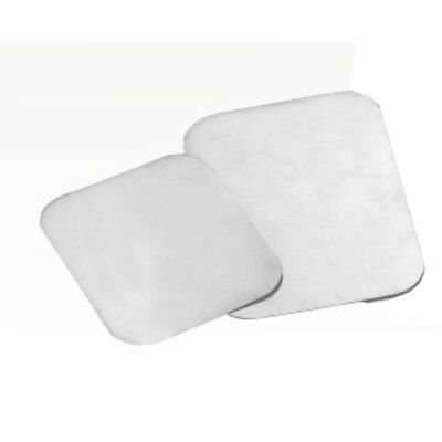 - Foil Board Oblong Flat Lid For 2.25 lb. Container 8