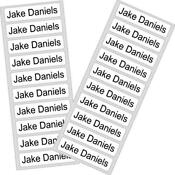 Iron on Name Labels Printed