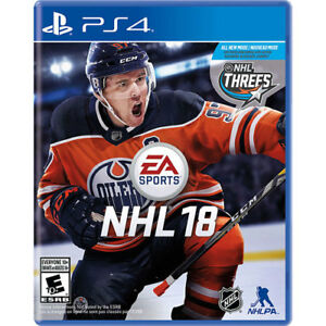 PS4 game for sale- NHL 18 Brand New Sealed Unopended 2018