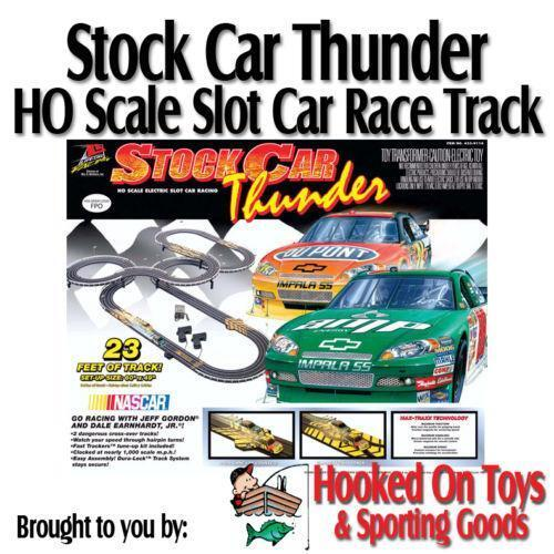 HO Scale Electric Slot Cars