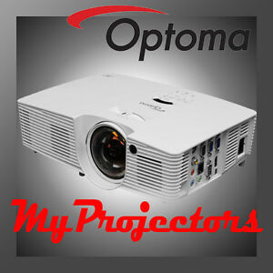 Optoma Gt1080 Short Throw Home Theatre Projector Highest Contrast Full Hd