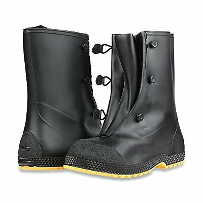 Servus 11001 SF Super-Fit Black 12″ PVC Overboots Size S-XL *Free US Shipping* Business & Industrial