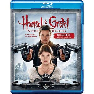 Hansel & Gretel Witch Hunters Unrated Cut Bluray