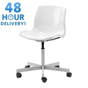 IKEA SNILLE Swivel Office Chair Work White EBay