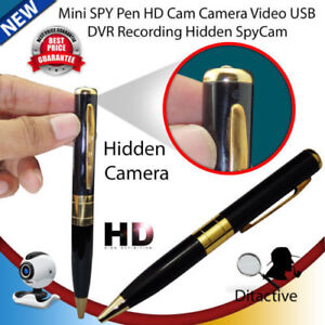 Mini HD USB DV Camera Pen Recorder Security DVR Cam