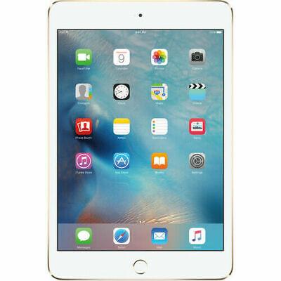 Apple iPad mini 4 - A1538 - 128GB - Wi-Fi - 7.9in - Gold