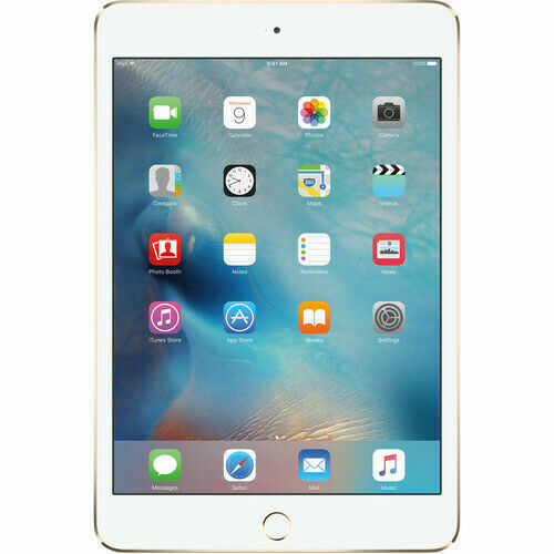 Apple iPad mini 4 Wi-Fi 128GB Gold MK9Q2LL/A