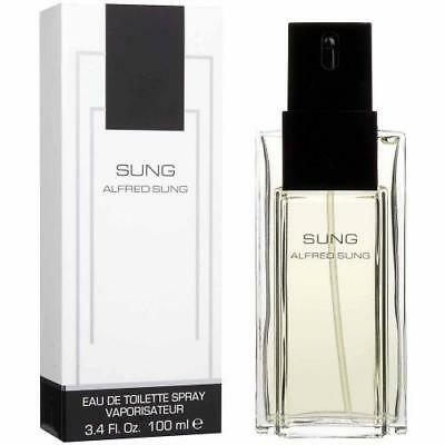 Sung Perfume by Alfred Sung for Women 3.4 oz EDT Spray for Women New in Box