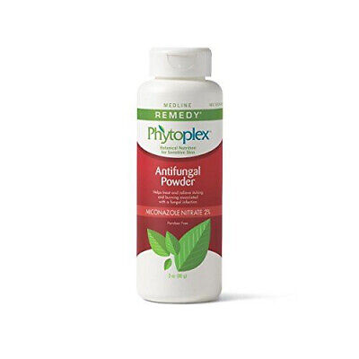 Antifungal Powder 3 Oz Bottle (Medline Remedy Phytoplex Antifungal Powder - 3 oz. Bottles - 4 PACK )