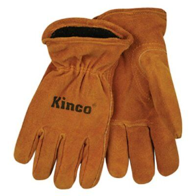Kinco 50rl-y Youths Lined Split Cowhide Leather Driver Gloves